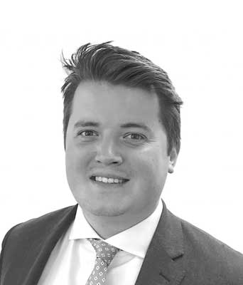 Oliver Levesley, Victor Harris Commercial surveyor