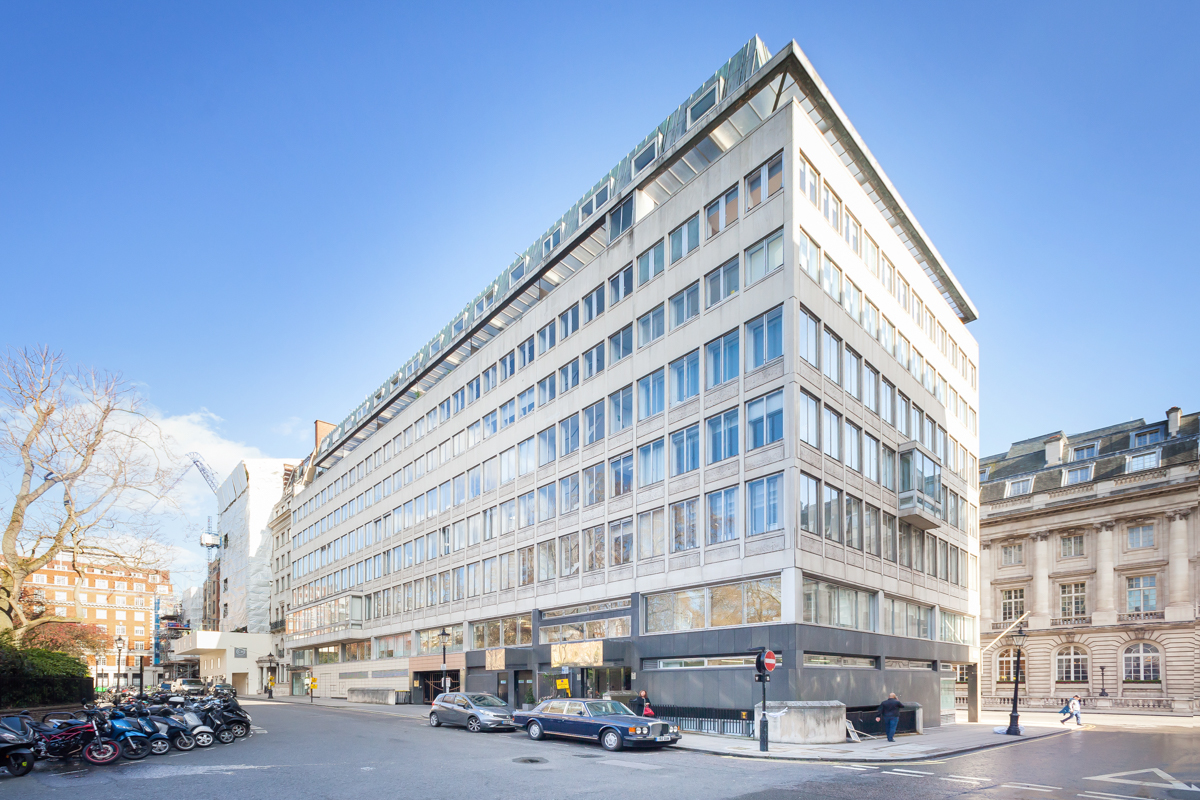 22a St James's Square SW1 office space is available through Victor Harris.