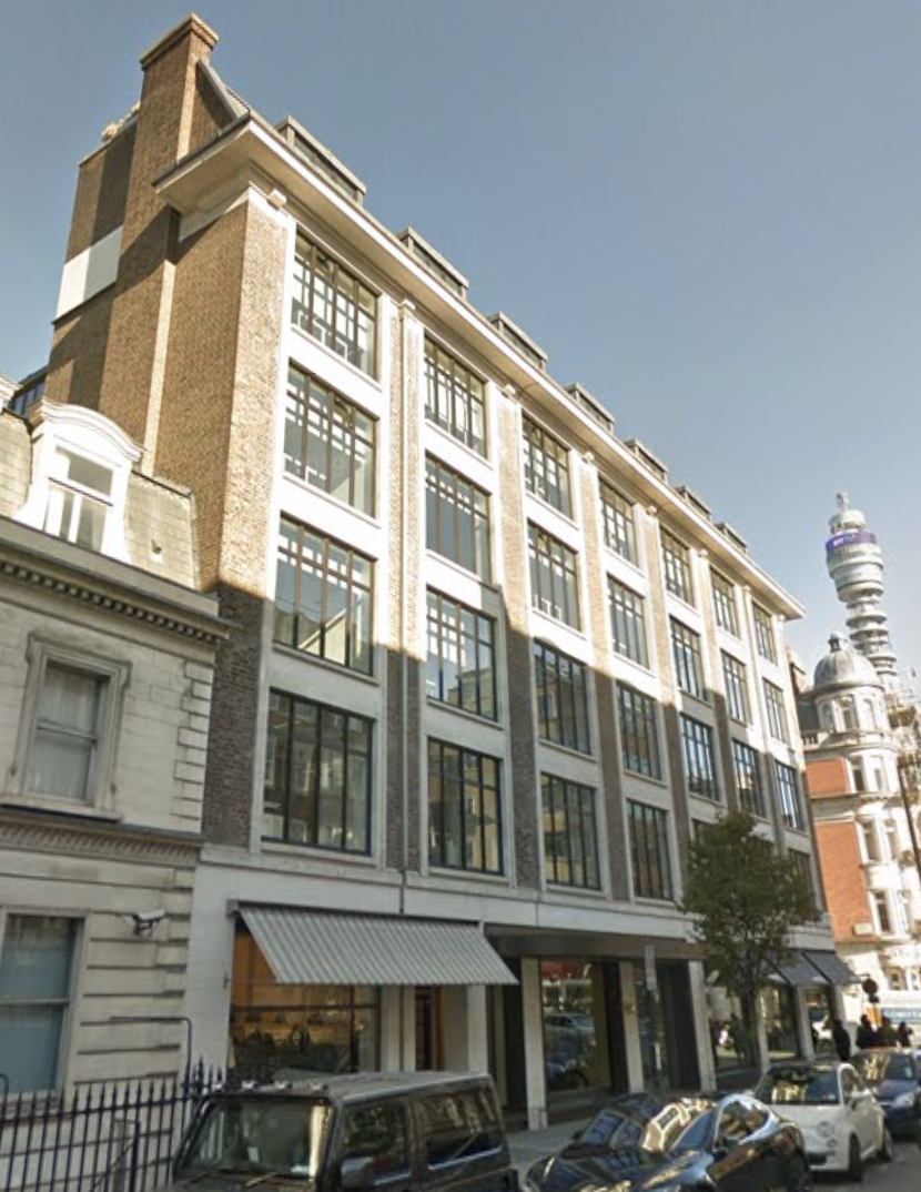 77 New Cavendish Street W1 has office space in the heart of Fitzrovia.