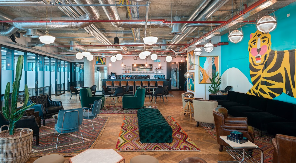 114 Whitechapel High Street office space available through Victor Harris.