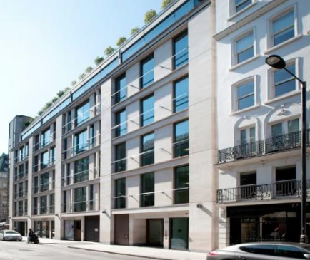 48 Dover Street W1 is a stunning Mayfair office building available through Victor Harris.