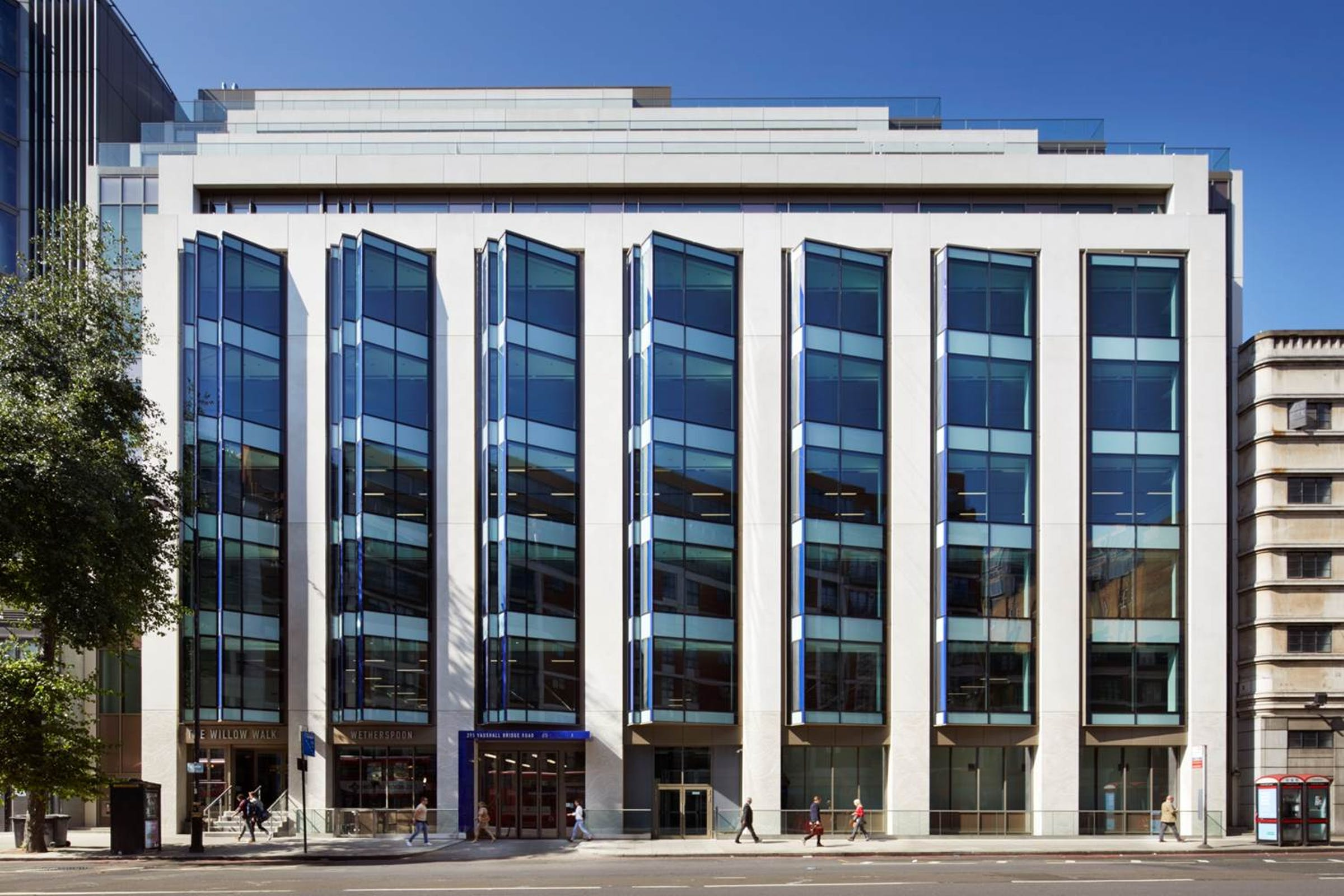 Victoria office space available in London.
